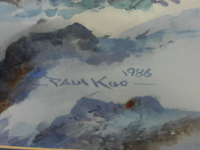 PAUL KUO Painting WATERCOLOR
