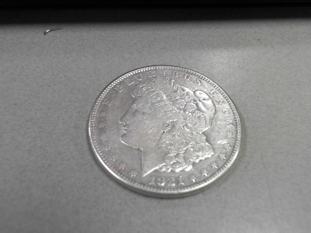 1921 MORGAN DOLLAR 12.43GRAMS