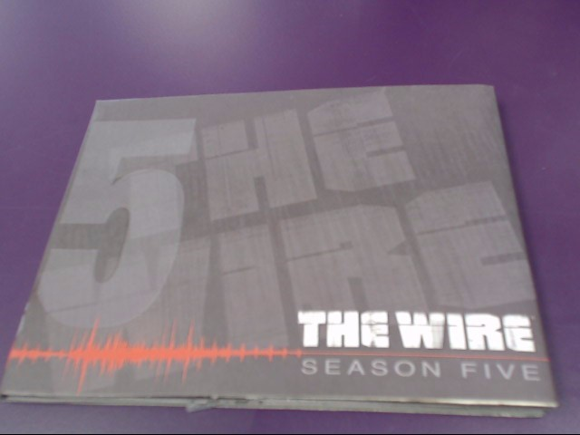 DVD BOX SET THE WIRE 5TH SEASON