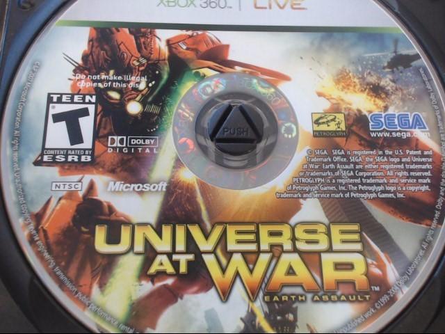 XBOX 360 UNIVERSE AT WAR
