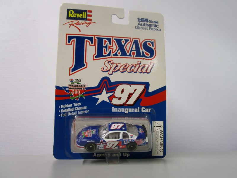 1997 EDITION RUSTY WALLACE #2 RACING CHAMPIONS AND REVELL RACING TEXAS SPECIAL 9