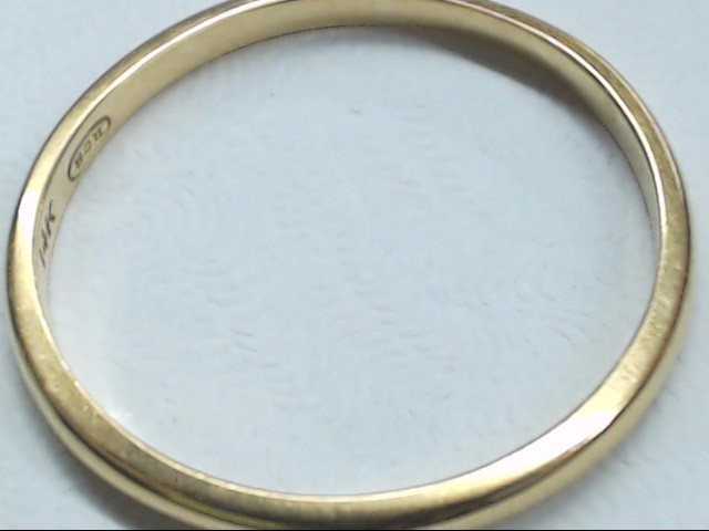 Gent's Gold Ring 14K Yellow Gold 1.9g Size:10.5