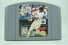 NINTENDO Nintendo 64 ALL-STAR BASEBALL 99 NINTENDO 64