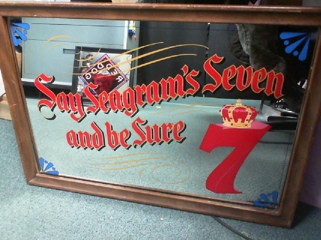 SEAGRAMS SEVEN MIRROR