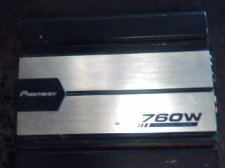 PIONEER ELECTRONICS Car Amplifier GM-510T