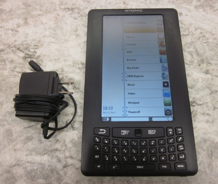 ITOMIC TABLET COMPUTER IEBR7C
