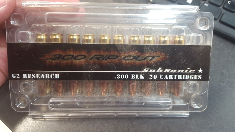 G2 RESEARCH AMMO Ammunition 300BLK