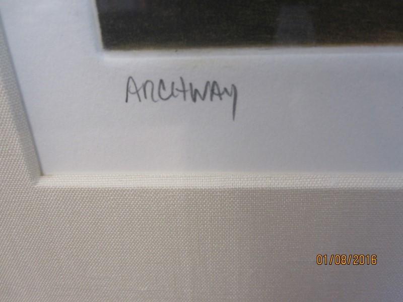 ANNE BELOV Painting ARCHWAY
