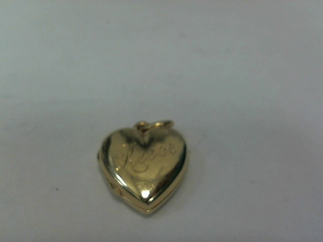 Gold Charm 14K Yellow Gold 3.2dwt