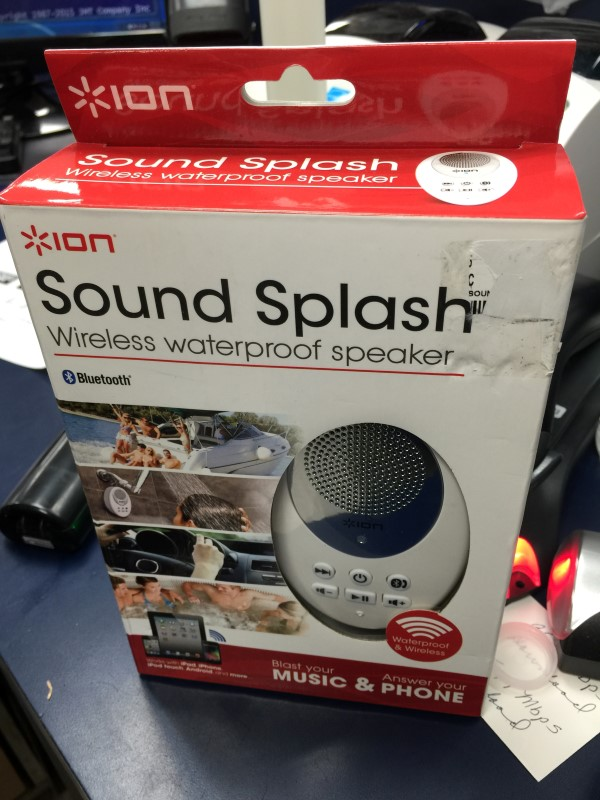 ION Speakers SOUND SPLASH WIRELESS WATERPROOF SPEAKER