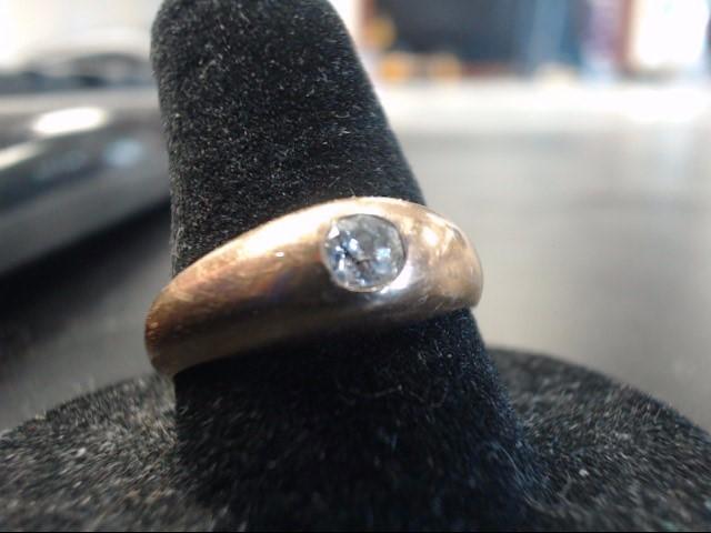 Lady's Diamond Fashion Ring 0.2 CT. 14K Yellow Gold 6g