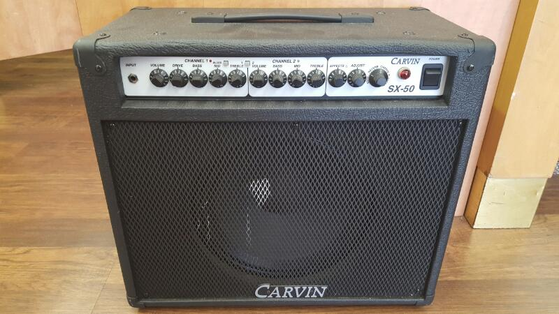 CARVIN Electric Guitar Amp SX-50 50WATTS SX00598