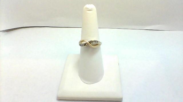 Lady's Diamond Fashion Ring 12 Diamonds .24 Carat T.W. 14K Yellow Gold 3.2g