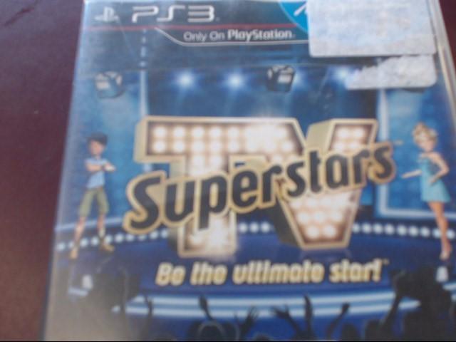 SONY PS3 TV SUPERSTARS