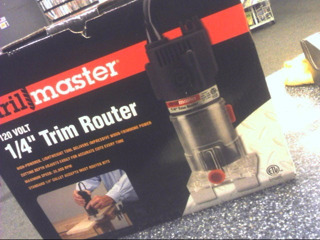 DRILL MASTER Mixed Tool Box/Set TRIM ROUTER