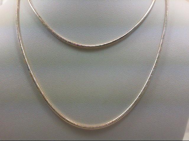 "23"" Silver Chain 925 Silver 9.9g"
