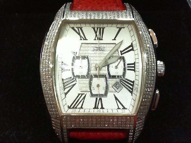 JOJO WATCHES Lady's Wristwatch JS2-00843 396 Diamonds 1.980 Carat T.W.