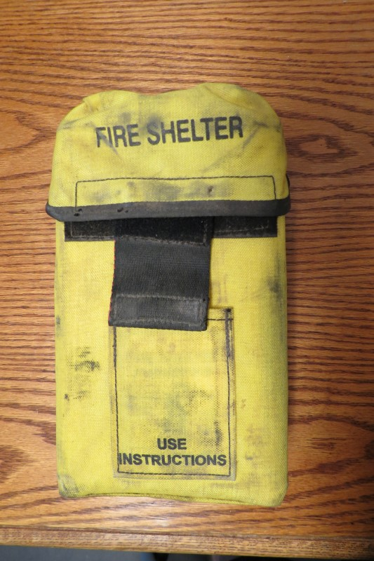 EMERGENCY FIRE SHELTER, YELLOW CORDURA