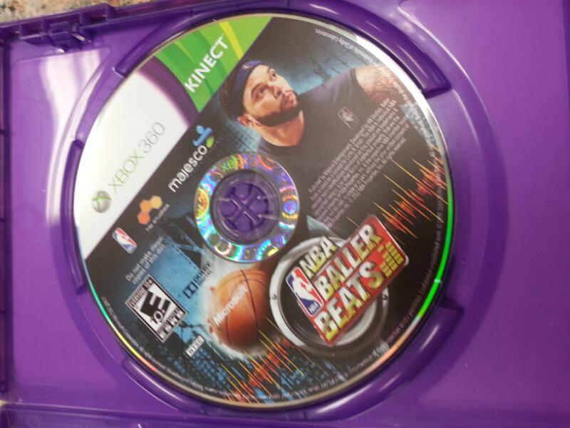 MICROSOFT Microsoft XBOX 360 Game NBA BALLER BEATS