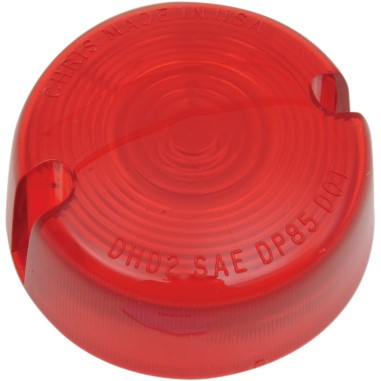 DRAG SPECIALTIES DHD-2R, TS REPLACEMENT LENS RED 86UP FXR,FXST,XL