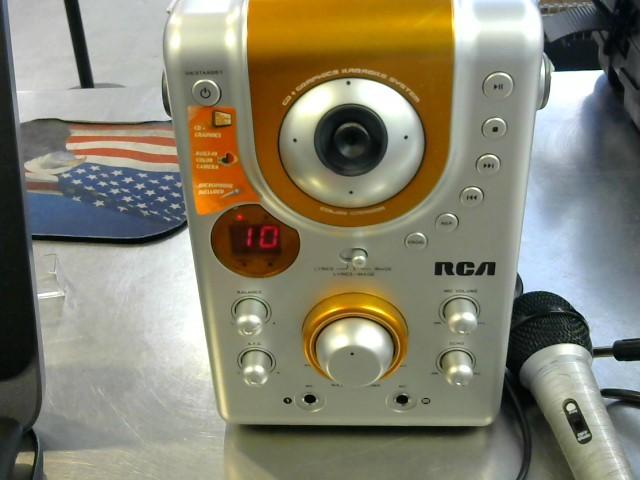 RCA Karaoke Machine RK1255