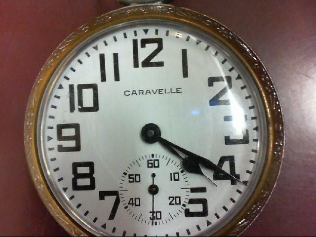 CARAVELLE  POCKET WATCH