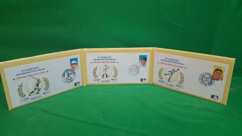 HALL OF FAME Entertainment Memorabilia LEGENDS IN FIRST DAY COVERS