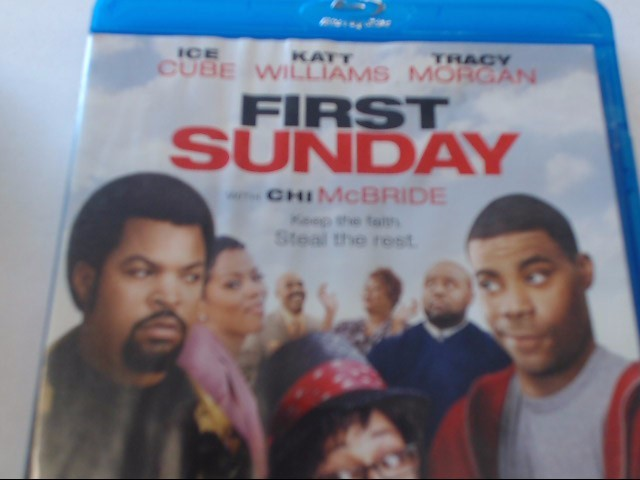 FIRST SUNDAY - BLU-RAY MOVIE