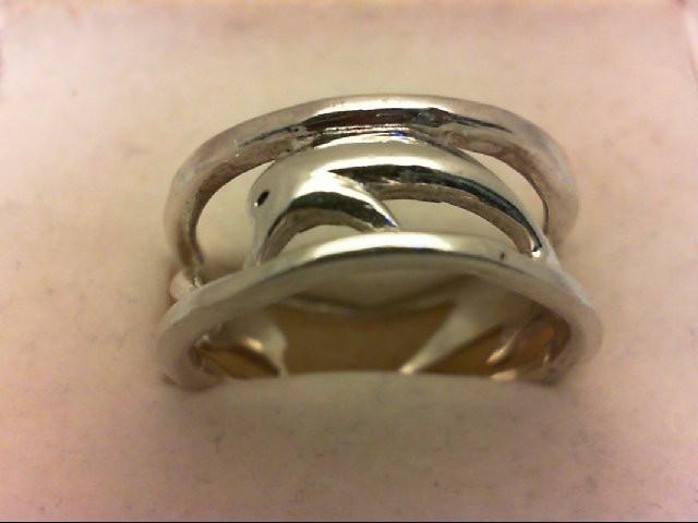 Lady's Silver Wedding Band 925 Silver 3.8g