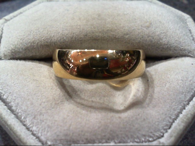 Gent's Gold Wedding Band 14K Yellow Gold 5g Size:10.8