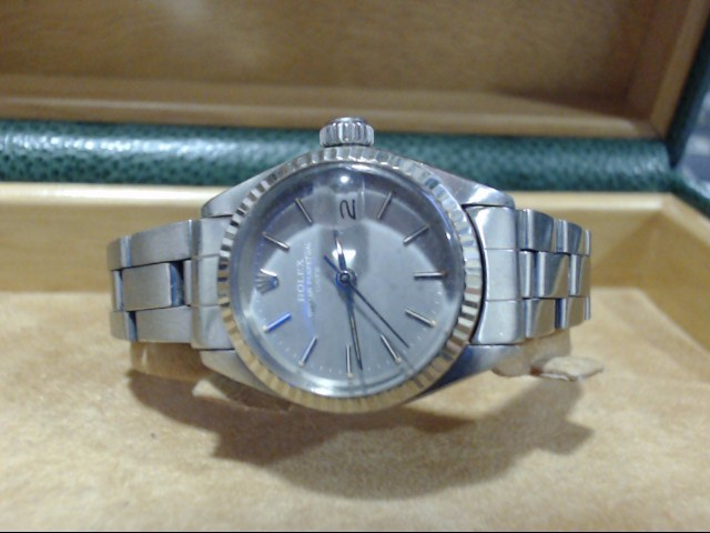 ROLEX Lady's Wristwatch 6917 STAINLESS OYSTER PERPETUAL LADY DATE