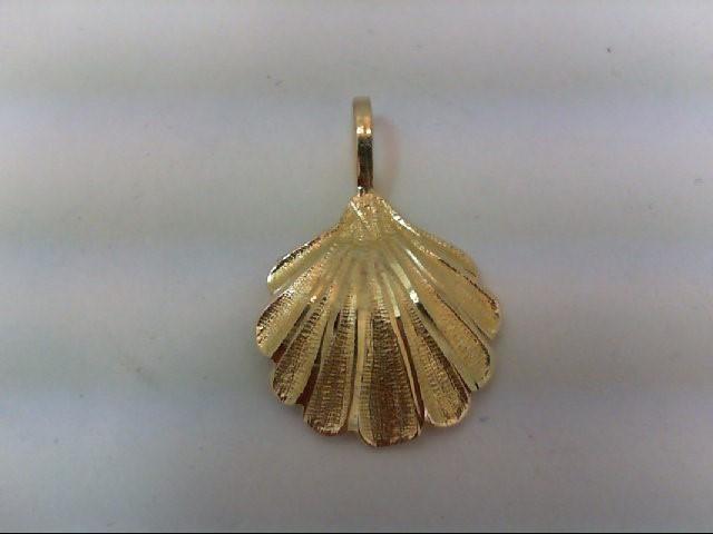 Gold Charm 14K Yellow Gold 1g