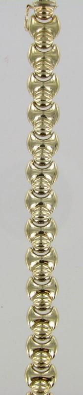 Gold Bracelet 14K Yellow Gold 10.1dwt