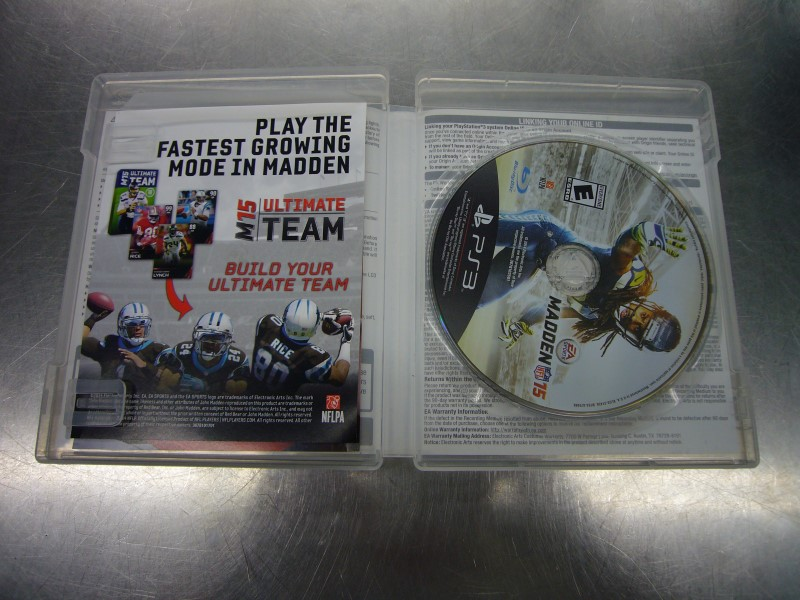 SONY PlayStation 3 Game MADDEN 15