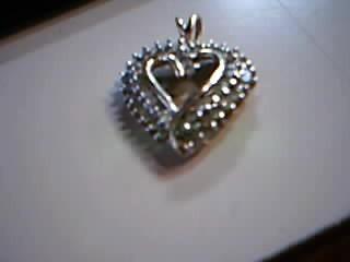 Gold-Multi-Diamond Pendant 52 Diamonds 1.04 Carat T.W. 10K Yellow Gold 2.6g