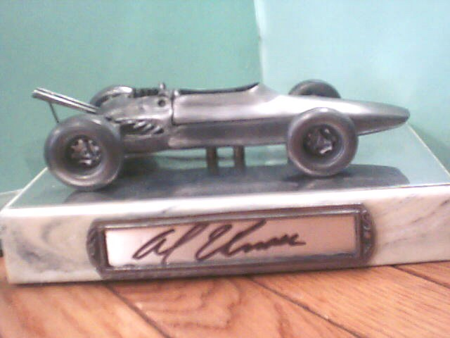 MICHAEL RICKER Sports Memorabilia PEWTER CARS