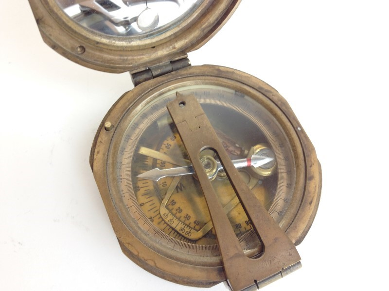STANLEY VINTAGE LONDON COMPASS