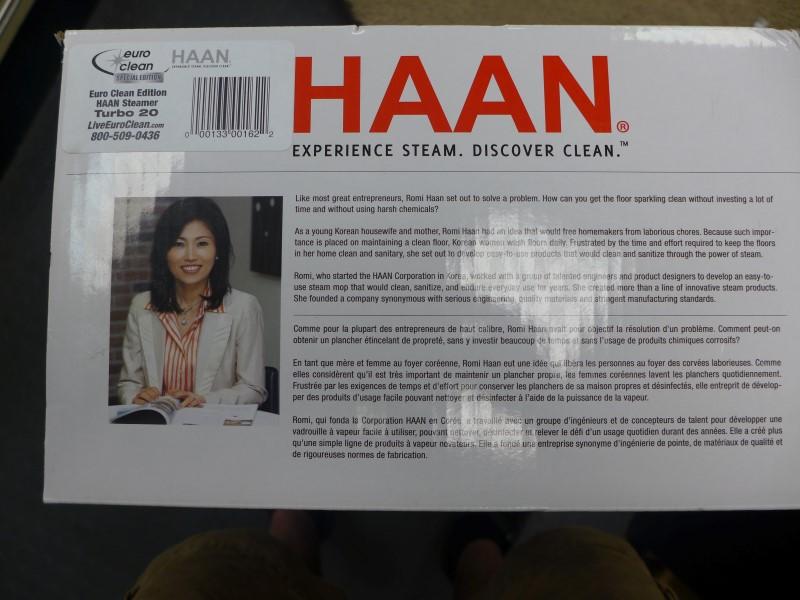 HAAN Carpet Shampooer/Steamer VERSASTEAM PRO