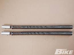 CUSTOM CHROME Part 28-440 HD Performance Fork Springs by Progressive Suspension