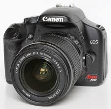 CANON EOS 450D WITH LENS&CHARGER