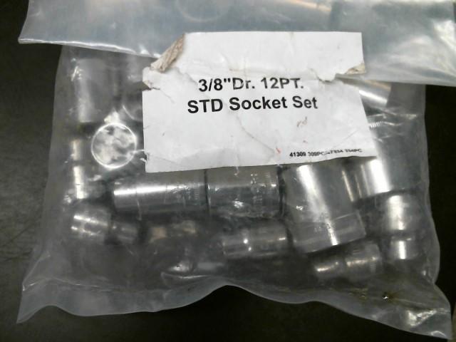 """CRAFTSMAN Sockets/Ratchet 3/8"""" DR. 12 PT STD SOCKET SET"""