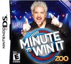 NINTENDO Nintendo DS DS MINUTE TO WIN IT