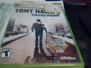 MICROSOFT Microsoft XBOX 360 Game TONY HAWKS PROVING GROUNDS