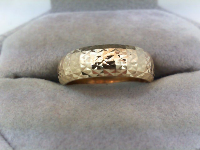 Lady's Gold Ring 14K Yellow Gold 1.8g Size:8