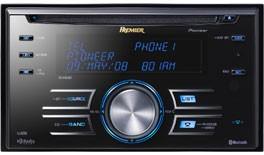 PIONEER FH-P800BT AM/FM/CD RECEIVER AUTO RADIO , BLUDTOOTH/I-POD/USB 2.0/SAT RAD