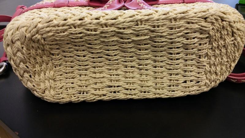 BRIGHTON Handbag BOW STRAW PURSE