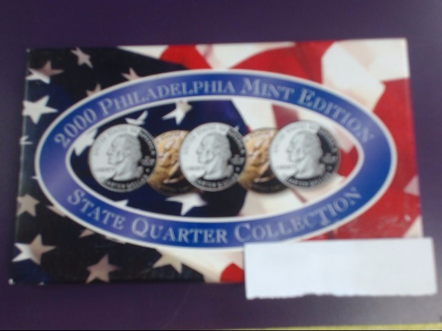 2000 Philadelphia Mint Edition - State Quarter Collection