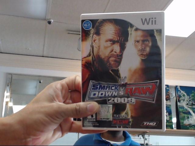 NINTENDO Nintendo Wii SMACKDOWN VS RAW GAME