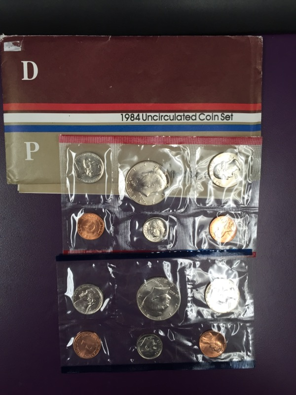 UNITED STATES  1984 UNCIRCULATED COIN SET