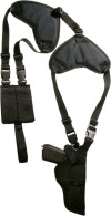 M&M MERCHANDISERS PROTECH WSHD-3 AMBIDEXTROUS SHOULDER HOLSTERS